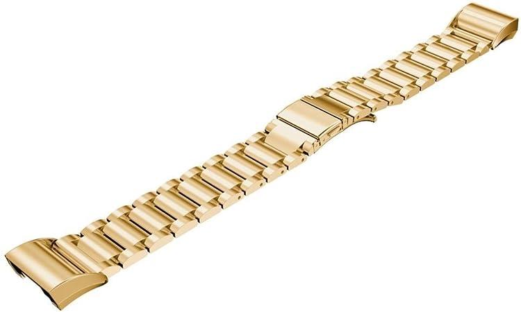 iMounTop Bracelet Fitbit Charge 2 Bracelet Courroie Sangle Acier inoxydable un