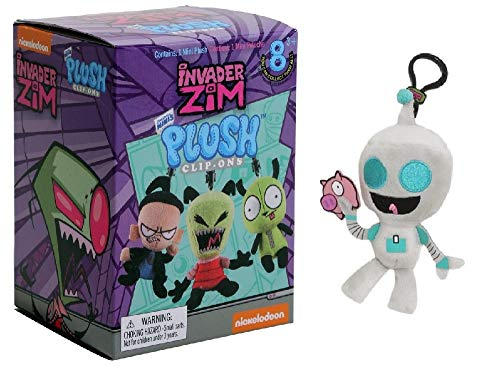Invader Zim Original Mini's Happy Robot Gir with Piggy 3