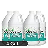 Ecotex DIPPER STRIPPER - 2-n-1 Emulsion and Ink Remover for Screen Printing - 4 Gallons