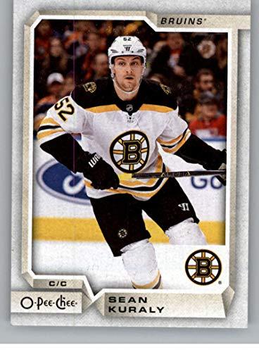 2018-19 OPC O-Pee-Chee Hockey #64 Sean Kuraly Boston Bruins Official 18/19 NHL Trading Card (Nhl Bruins Boston Card)
