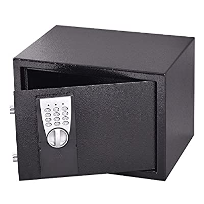 Safstar Digital Keypad Electronic Security Safe Box for Money Gun Jewelry