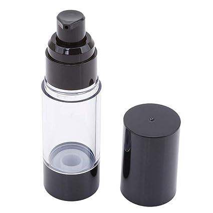 MagiDeal 10 Piezas Bomba Vac/ía Airless Tubo Cosm/éticos Recipientes de Crema Envase Cosm/éticos