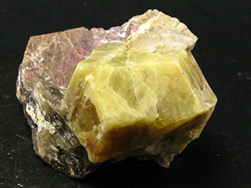 rhodizite crystal - 6