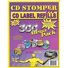 CD Stomper Pro CD Label Refills