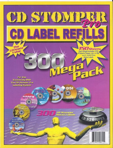 Label Making Software Free (CD Stomper Pro CD Label Refills)