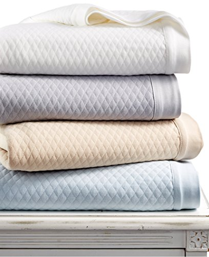 Martha Stewart Collection Quilted Triple Knit King Blanket Bedding