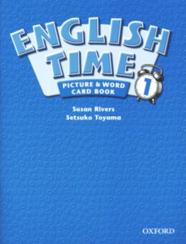 English Time 1: Picture & Word Card Book by Oxford University Press