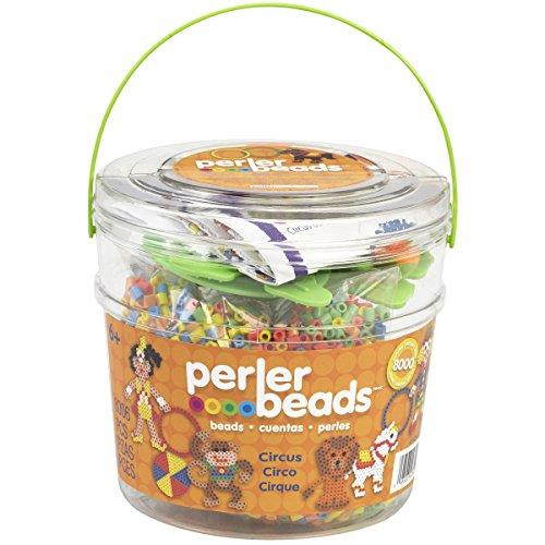 Perler Fun Fusion - Perler Fun Fusion Fuse Bead Bucket-Circus