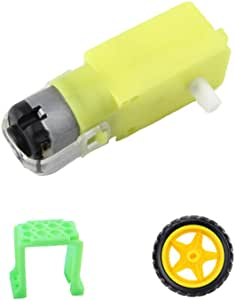1pcs Strong Magnetic DC Dual Shaft Gear Motor For Toy Car With Strong Magnetic