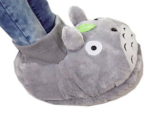 1pc My Neighbor Totoro Warm Feet Slippers Large Feet Slippers