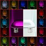 Led Toilet Seat Licwshi Motion Activated Toilet Night Light 16 Color Changing Led Toilet Seat Light