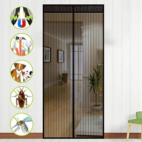 NASUM Mosquitera Puerta Magnética, Mosquitera Puerta, Mosquitera Ventana para Puertas de Salón, Balcón, Corredor (100 * 220cm): Amazon.es: Bricolaje y herramientas