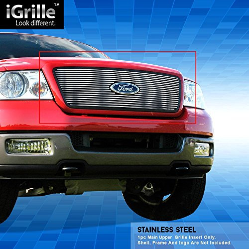 Off Roader Stainless Steel eGrille Billet Grille Grill for 2004-2008 Ford F-150 Honeycomb Style -