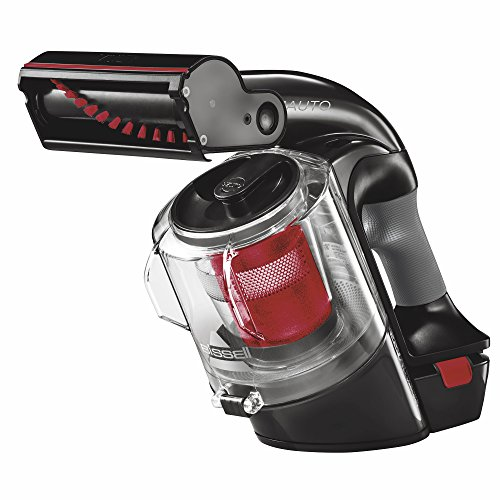 Handheld Turbo Vac - BISSELL Multi Auto Lightweight Lithium Ion Cordless Car Hand Vacuum, Red, 19851