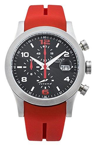 LOCMAN watch ISLAND 0618A07-00GYWRSR Men's