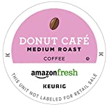 : AmazonFresh 80 Ct. Coffee K-Cups, Donut Cafe Medium Roast, Keurig Brewer Compatible