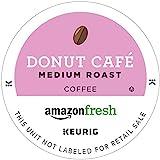 AmazonFresh 80 Ct. Coffee K-Cups, Donut Café Medium Roast, Keurig Brewer Compatible