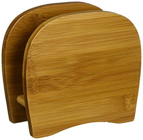Lipper International 8861 Bamboo Wood Napkin