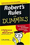 img - for Robert's Rules For Dummies by C. Alan Jennings (December 24, 2004) Paperback book / textbook / text book