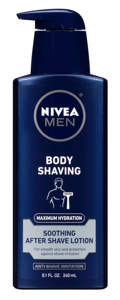 Nivea Men Body Shaving After-Shave Lotion 8.1 Ounce (240ml)