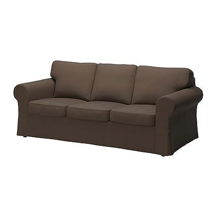 Funda para IKEA EKTORP sofá jonsboda marrón 802.704.94: Amazon.es ...