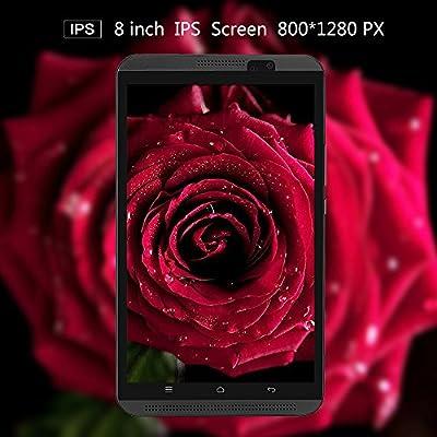 Yuntab H8 4G LTE Tablet - 8 pulgadas Tablet Phone (Quad-core, 64 ...