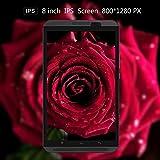 Yuntab H8 8 Inch A53 64bit CPU,1.3Ghz Quad Core Android 6.0,Unlocked Smartphone Phablet Tablet PC,2G+16G,HD 800x1280,Dual Camera 2M+5M,IPS,WiFi,Bluetooth, P-Sensor,G-Sensor,GPS,Support 2G/3G/4G(Black)