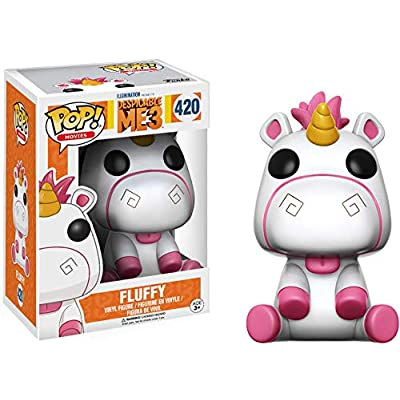 Funko POP Movies Despicable Me 3 Fluffy Action Figure: Funko Pop! Movies:: Toys & Games