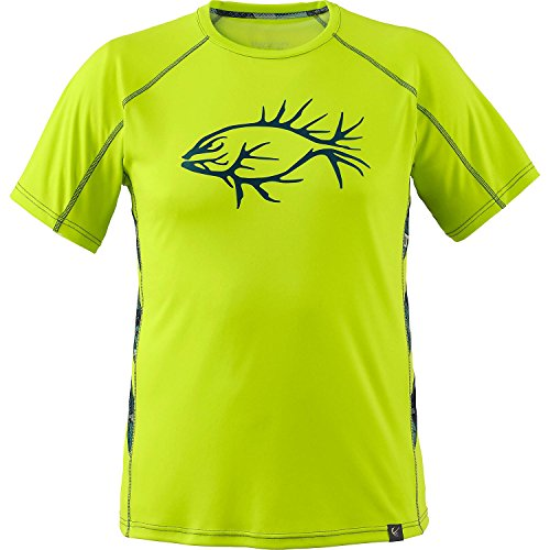 Legendary Whitetails Men's Shawano Gills Performance S/S Tee Acid Lime - Lime Acid