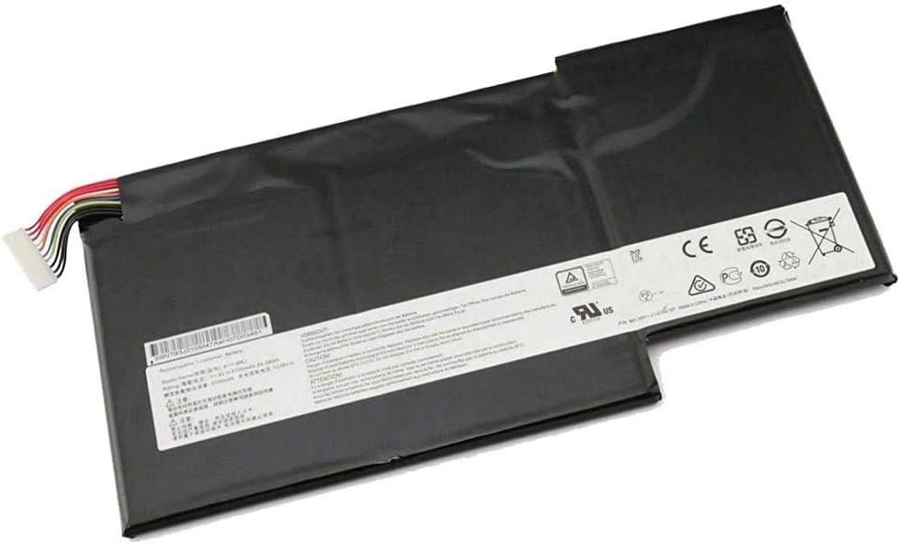WXKJSHOP Batería de repuesto compatible con MSI GS73VR 6RF 6RF-013CN 7RF 7RF-284CN 7RG 7RG-035CN BP-16K1-31 MS-16K2 MS-16K4 Stealth Pro Gaming BTY-U6J (11,1 V)