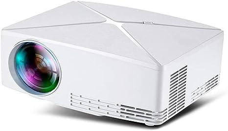 Mini proyector LED, 1280X720 portátil de Alta definición de vídeo ...