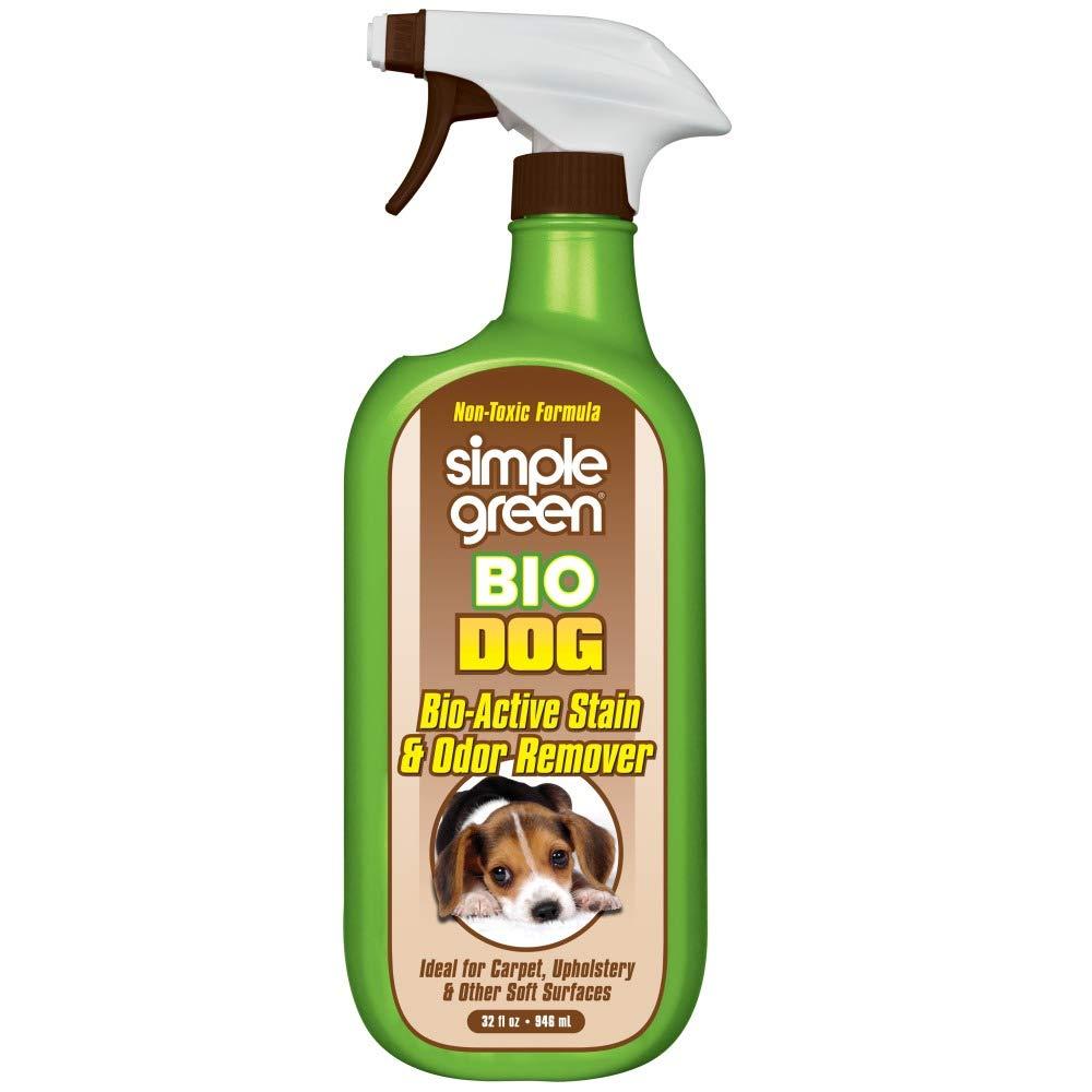Amazon.com: Limpiador de manchas y olores activo para perros ...