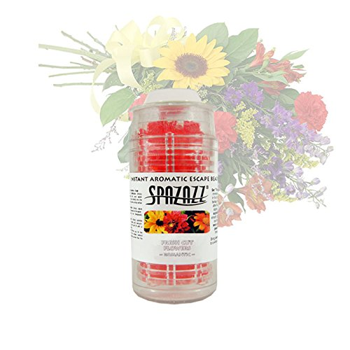 Spazazz SPZ-355 Fresh Cut Flowers Romantic Instant Aromatic Escape Beads Jar, 1/2 oz