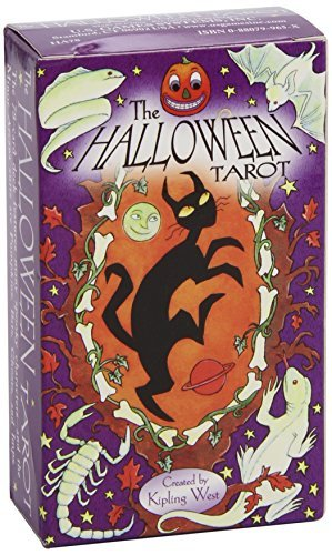 Halloween Tarot Deck by Kipling West (1-Jul-1997) Cards]()