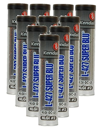 51xRSLXCRKL amazon com kendall l 427 super blu high temp grease pack of 10