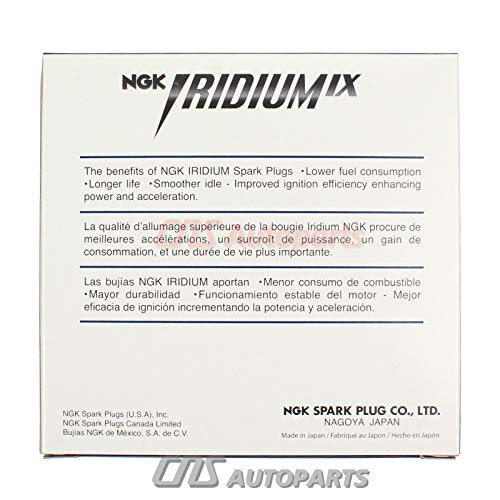 Amazon.com: IRIDIUM IX Spark Plug NEW #NGK 1PCS (4469) LFR5AIX-11: Automotive