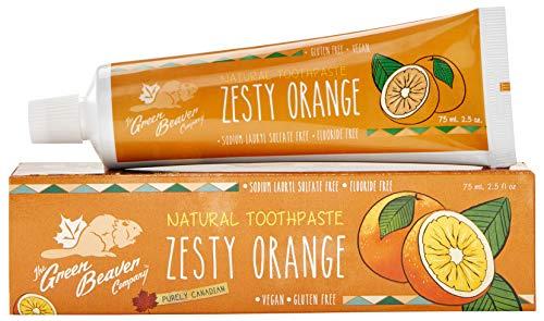 Green Beaver Natural Toothpaste Zesty Orange - 2.5 fl -
