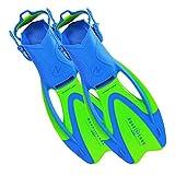 Aqua Lung Proflex Jr. Fins Fun Blue Size Large Sizes 5-8
