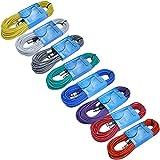 xlr snake 8 ch - 8 Color Pack: Pro Audio XLR Cables 50ft long