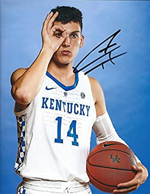 Autographed Tyler Herro 8x10 University of Kentucky Photo