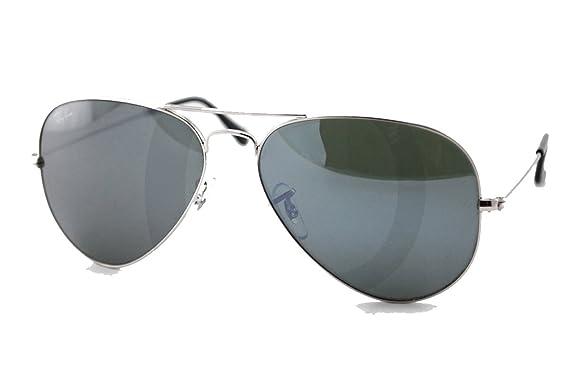 RAY BAN Aviator miroir Mixte Indice 3  Amazon.fr  Vêtements et ... 53a3d8e58c75