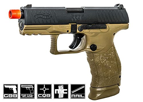 elite force walther ppq tactical gbb pistol by vfc (2 tone)(Airsoft Gun) by Elite Force