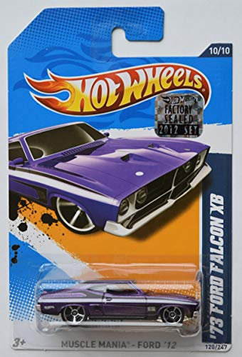 Hot Wheels Muscle Mania Ford '73 Ford Falcon XB Purple 120/247 (Ford Falcon Hot Wheels)