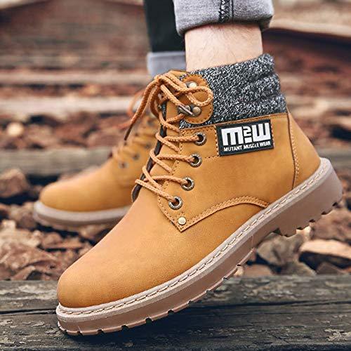 da Pelle Classici Stivali Autunno Uomo per Classiche Classica Boots Scarpe Martin E Yellow Inverno Adulti Stivali Doc Mens Stivali q8ZfAf