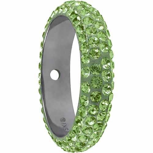85001 Swarovski Becharmed Charm Thread Ring Bead - 16.5mm | Peridot | 14.5mm - Pack of 1 | Small & Wholesale Packs