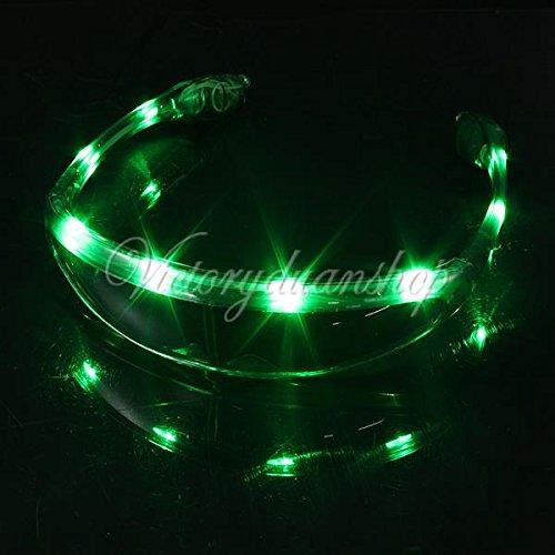 Spaceman UFO Light Up LED Glasses / Shades - - Sunglasses Ufo