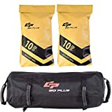 Goplus Workout Fitness Sandbag w/Filler Bag 10 to 60 Lbs Adjustable Heavy Military Tactical Training Weight Bags for Exeicise (20)
