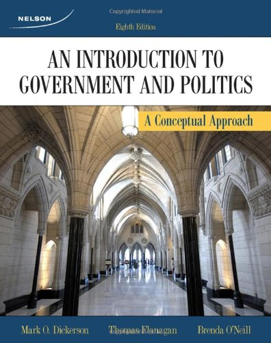 CDN ED An Introduction To Government and Politics: A Conceptual Approach