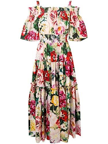 Gabbana Dolce Pink Dress - Dolce e Gabbana Women's F68e1ths5cyhnt68 Pink Cotton Dress