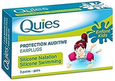 Pack of 3 Quies Pair of Foam Earplugs of Earplugs